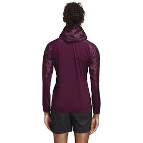 adidas TERREX Agravic Alpha - Chaqueta Running Mujer - violeta